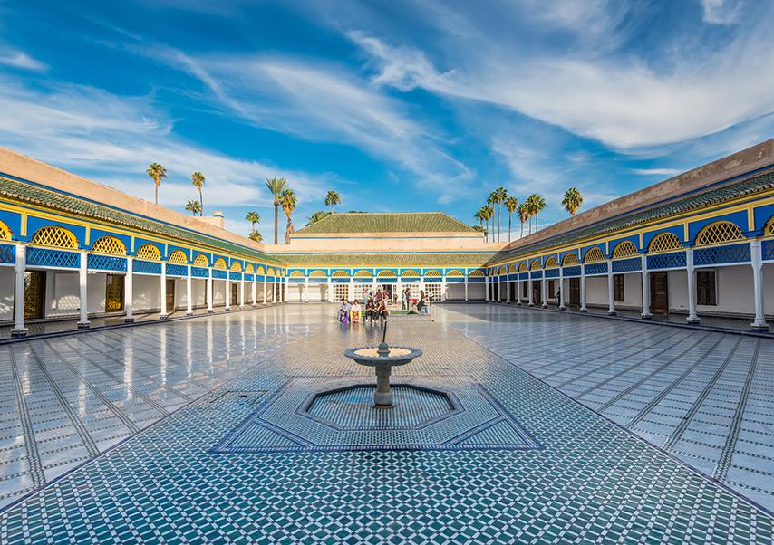 Business trip Marrakech Bahia palace