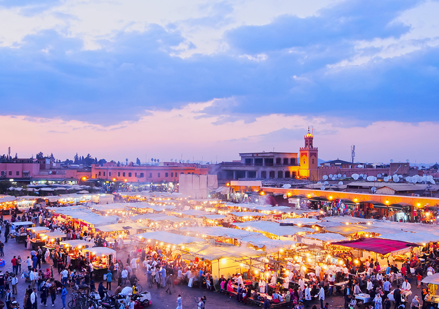 Business trip Marrakech Jamaa-el-Fna