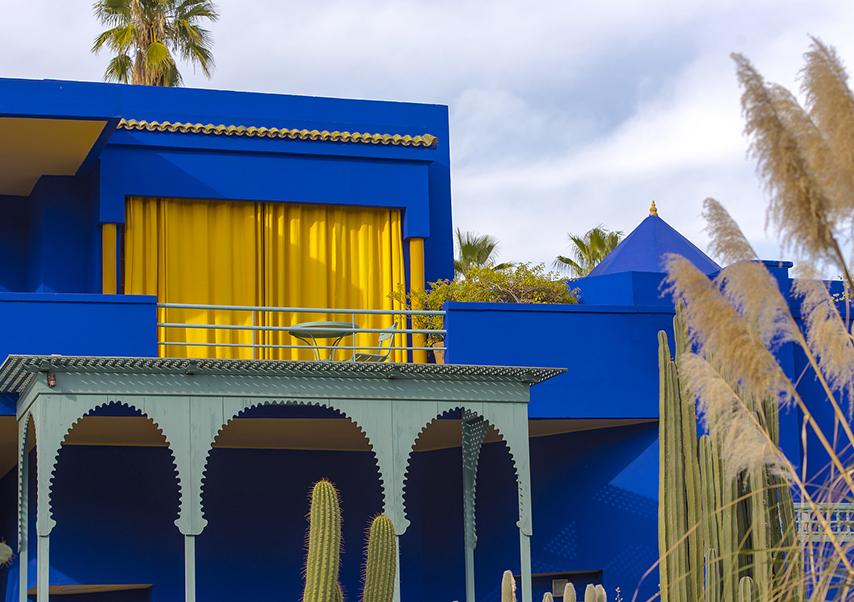Business trip Marrakech Majorelle