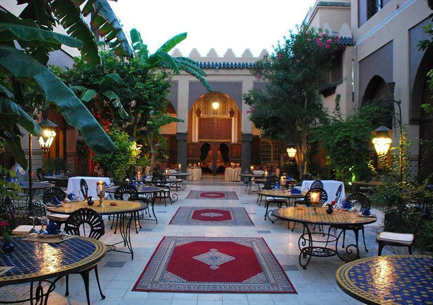 Business trip Marrakech restaurant