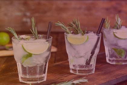 Cocktail worshop gin tonic