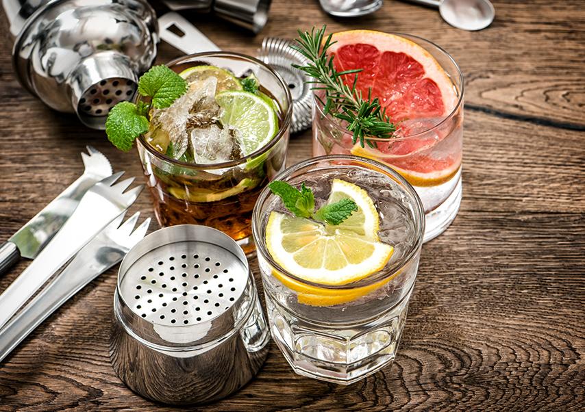Cocktail worshop soiree