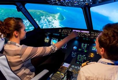 Soirée d'entreprise Toulouse simulateur de vol Airbus