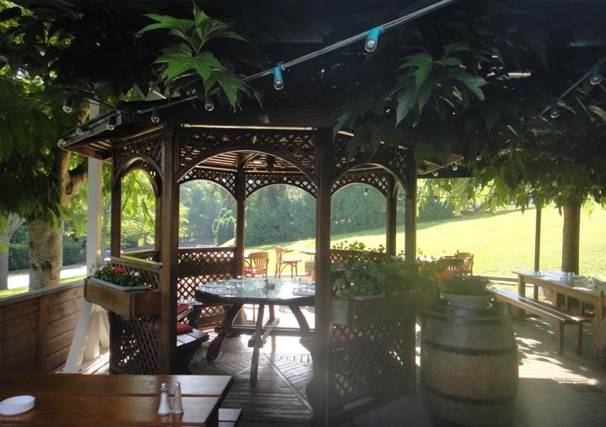 basque country business reception garden