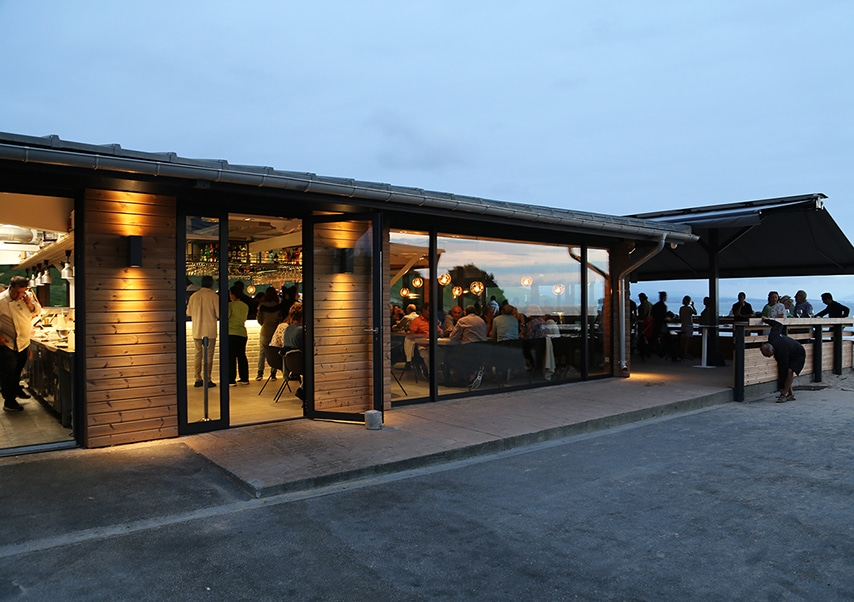 basque country business reception ocean
