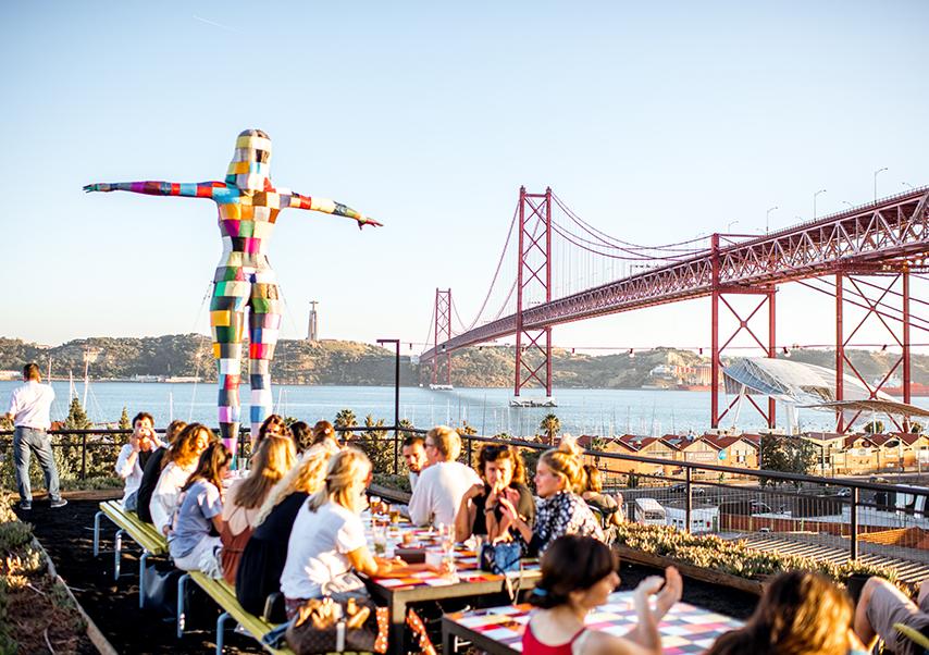 business trip Lisbon city