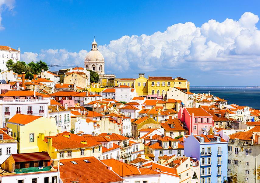 business trip Lisbon landscape