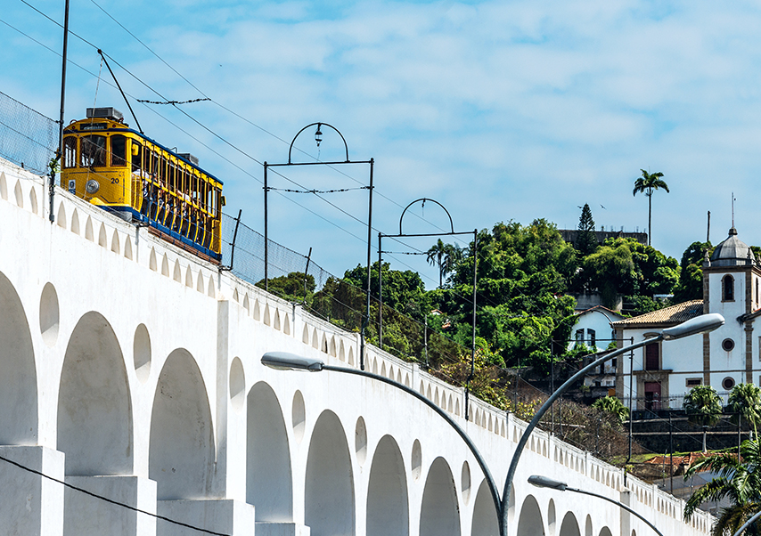 business trip brazil arches
