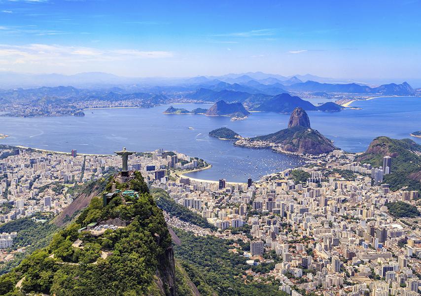business trip brazil landscape