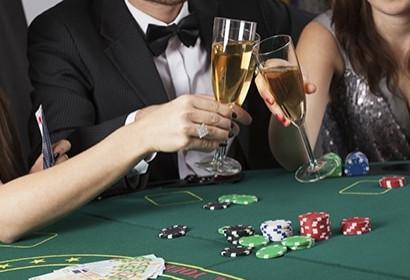 fake business casino activity