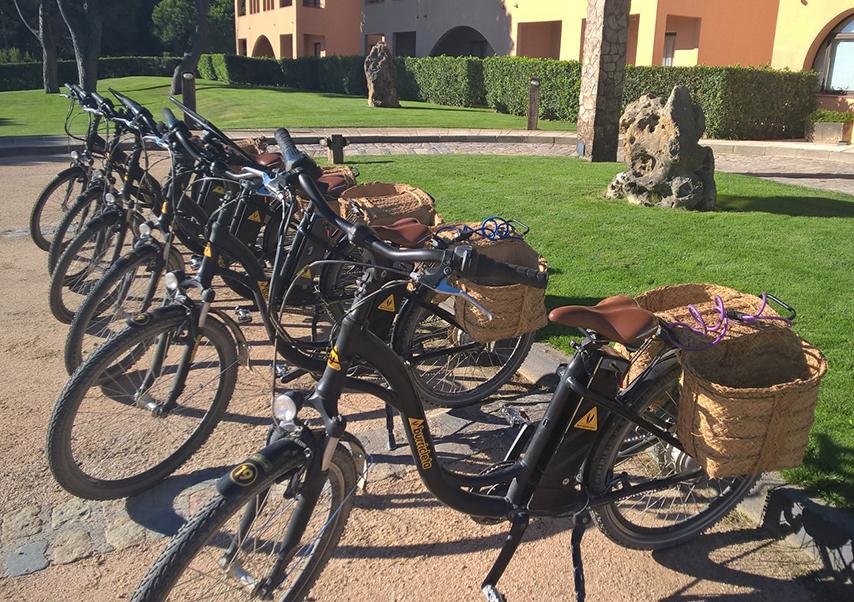 golf seminar Spain bike