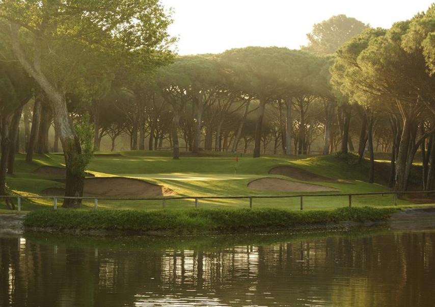 golf seminar Spain green