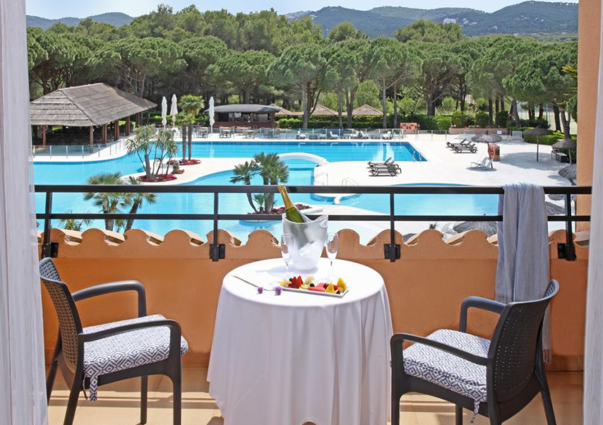 golf seminar Spain terrace
