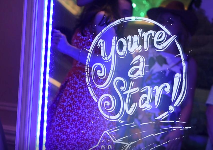 interactive mirror evening star