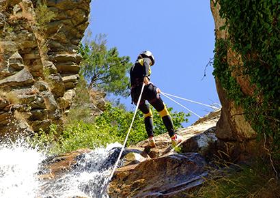 pyrenees canyoning 3