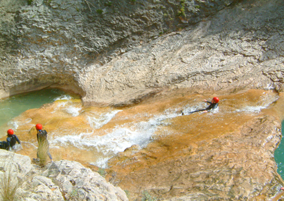 pyrenees canyoning 5