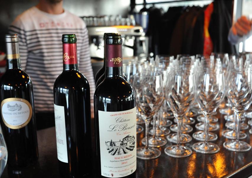 residential seminar Bordeaux tasting