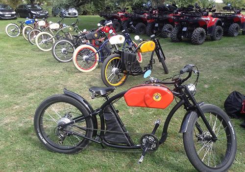 team building vintage electric bikes 3