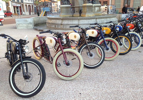 team building vintage electric bikes ride 2